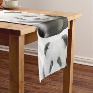 Panda Face Short Table Runner