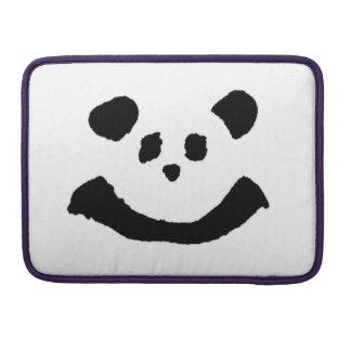 Panda Face Sleeve For MacBooks