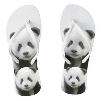 Panda Face Thongs