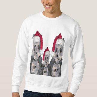 Panda Family Christmas Sweatshirt