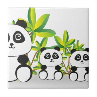 Panda Family Tile