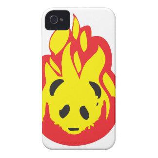 panda flame fire iPhone 4 covers