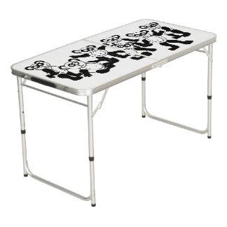 panda folding table