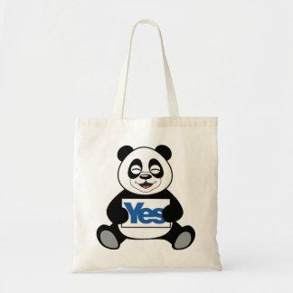 Panda For Yes Bag