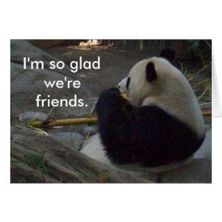 Panda Friends Card
