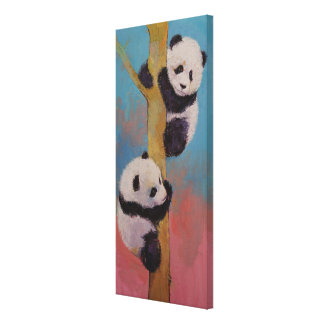 Panda Fun Canvas Print