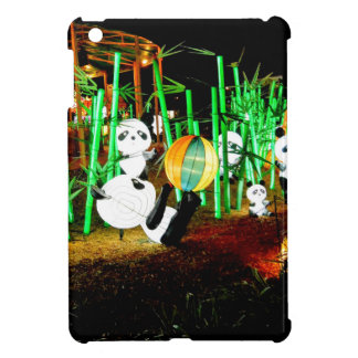 Panda Garden Light Up Night Photography iPad Mini Case