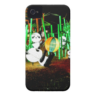 Panda Garden Light Up Night Photography iPhone 4 Case-Mate Cases