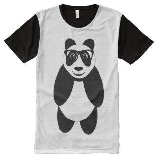 Panda Geek All-Over Print T-Shirt