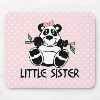 Panda Girl Little Sister Mousepad