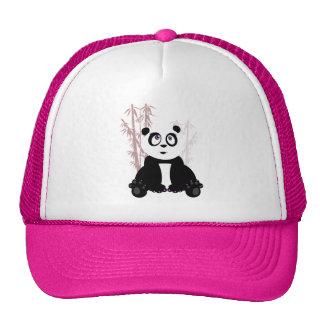 Panda Girl - Pink Cap