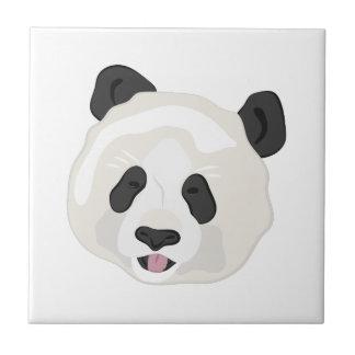 Panda Head Ceramic Tile