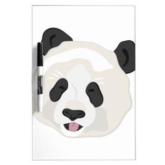 Panda Head Dry Erase Board