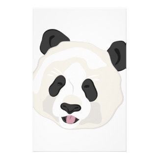 Panda Head Stationery