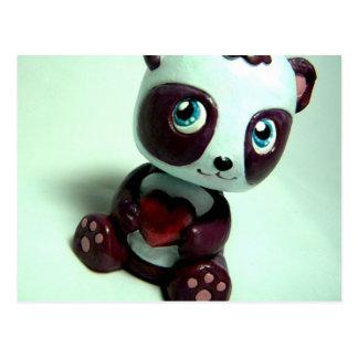Panda Hug I Postcard