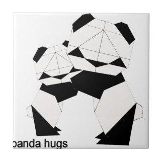 panda hugs tile