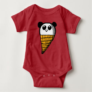 Panda Ice cream cone Shirt
