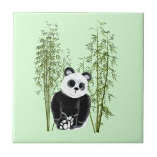 Panda in Bamboo Tile