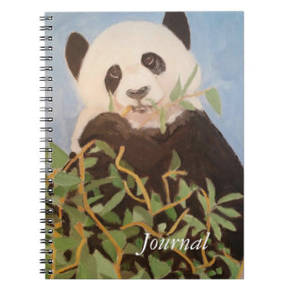Panda Journal Spiral Note Books