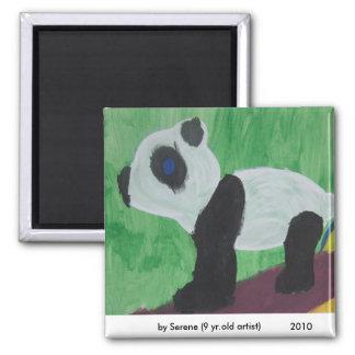 Panda Kids Art Magnet