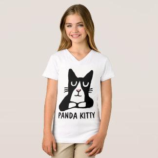 PANDA KITTY Cat T-shirts
