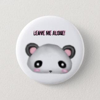 Panda - Leave me Alone! 6 Cm Round Badge