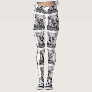 Panda Leggings, M Leggings