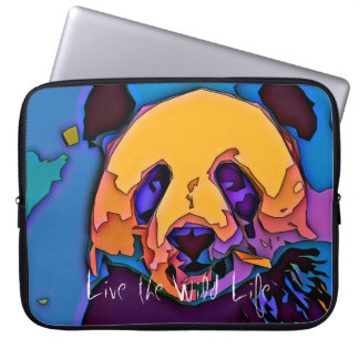 Panda - Live the Wild Life / Laptop Sleeve