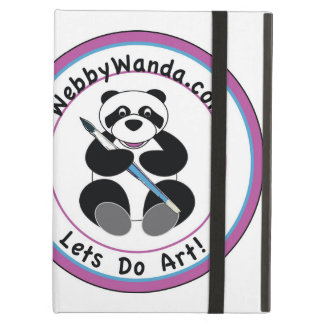 Panda Logo for webbywanda.com iPad case