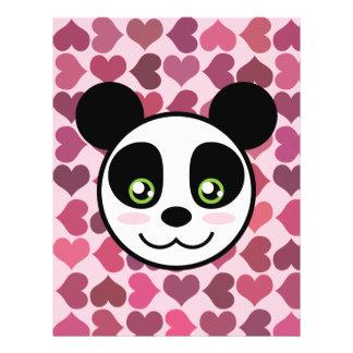 """""""Panda Love"""" 21.5 Cm X 28 Cm Flyer"""