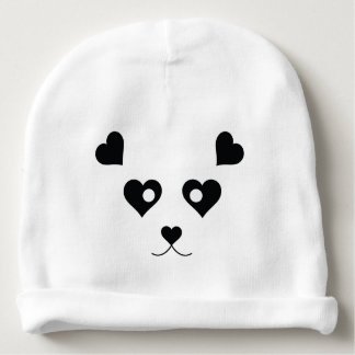 PANDA LOVE BABY BEANIE