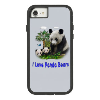 panda love Case-Mate tough extreme iPhone 8/7 case