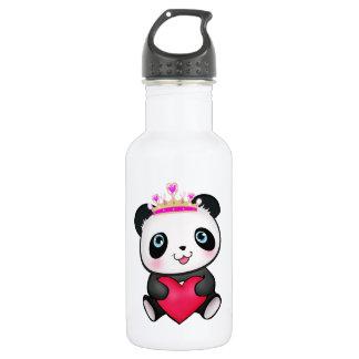Panda Lover Fan Valentine's Day Heart 532 Ml Water Bottle