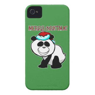 Panda Merry Christmas Blackberry Phone Case iPhone 4 Cases