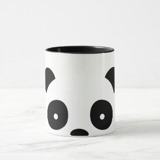 Panda Mug, white and black decorations Mug