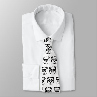 Panda Neck Tie