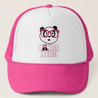 Panda Nerd Girl Trucker Hat