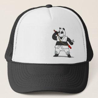 Panda Ninja Trucker Hat