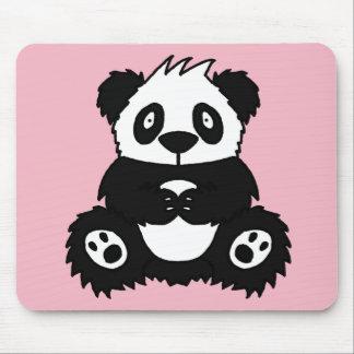 Panda Office Mouse Mat Pad