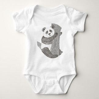 Panda Onsies Baby Bodysuit