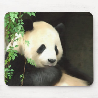 Panda Painting Mousepad