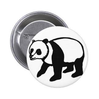 Panda PANDA cutting picture 6 Cm Round Badge