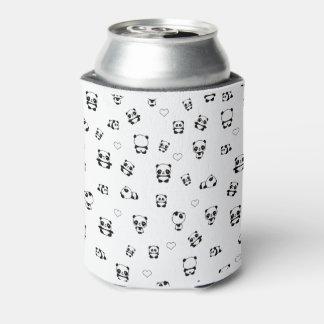 Panda pattern can cooler