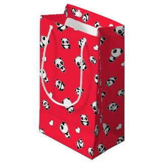 Panda pattern small gift bag