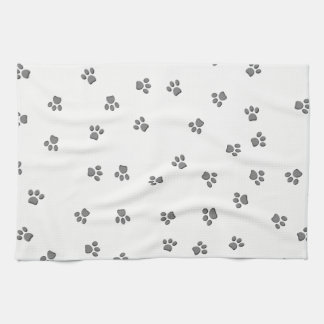 Panda Paws Tea Towel