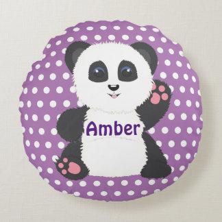 Panda pillow for nursery or kids room