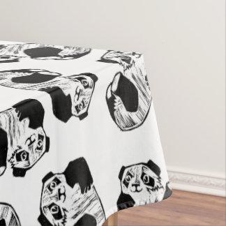 "Panda Play Cotton Tablecloth, 52""x70"" Tablecloth"