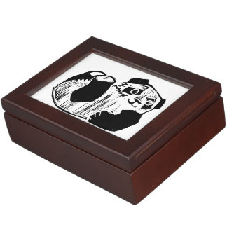 Panda Play Keepsake Box