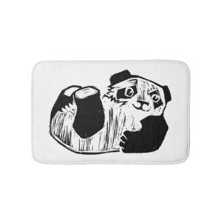 Panda Play Small Bath Mat Bath Mats