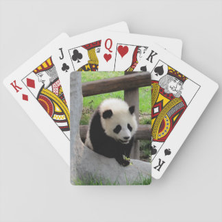 Panda Playing Cards
